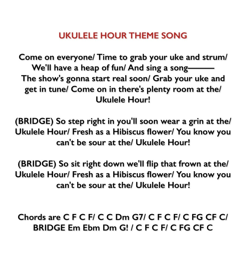 Uke Hour Theme